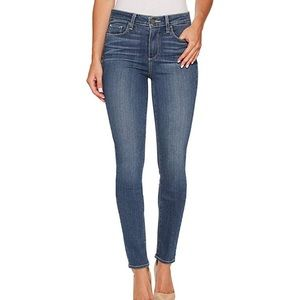 Paige Hoxton Ultra Skinny Mid-rise Jeans 27